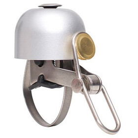 Diverse Brave Classics Mini Bell, brushed silver